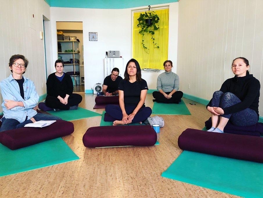 Ayurveda workshop for kapha-balancing.
