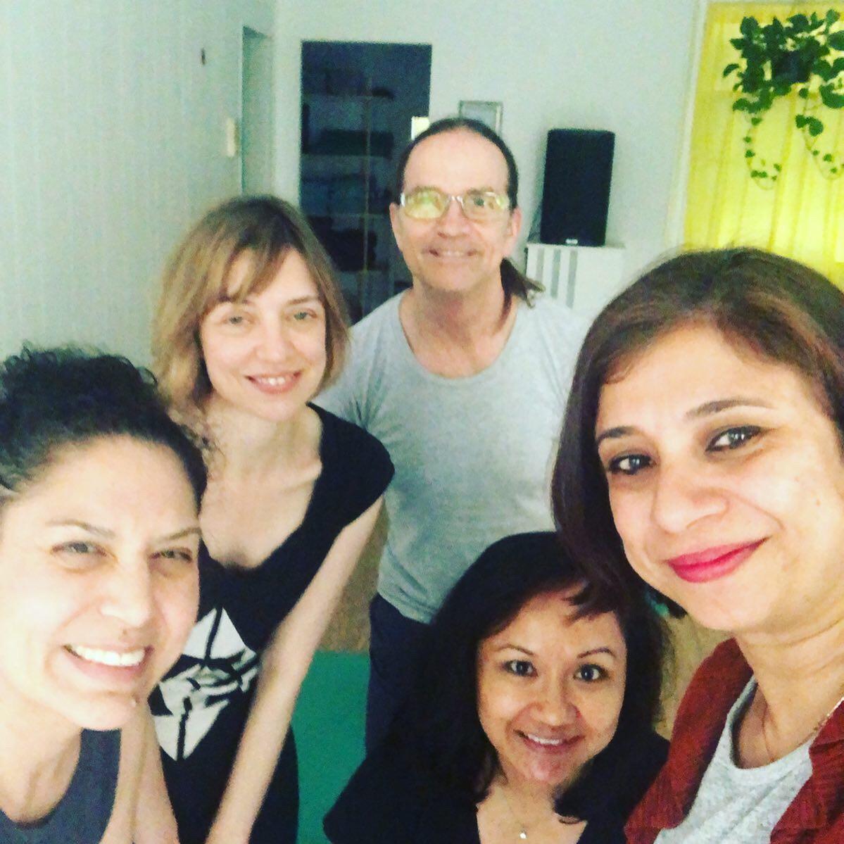 Ayurveda and mindset coaching workshop at 2nd Story Yoga + Pilates, NYC