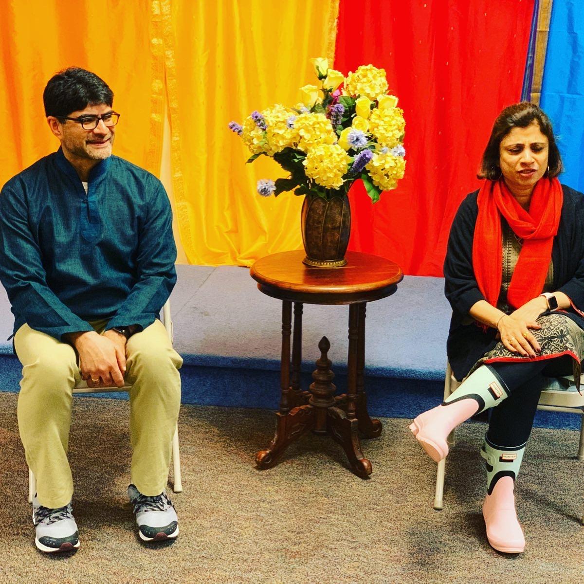 Ayurveda workshop for creative professionals.