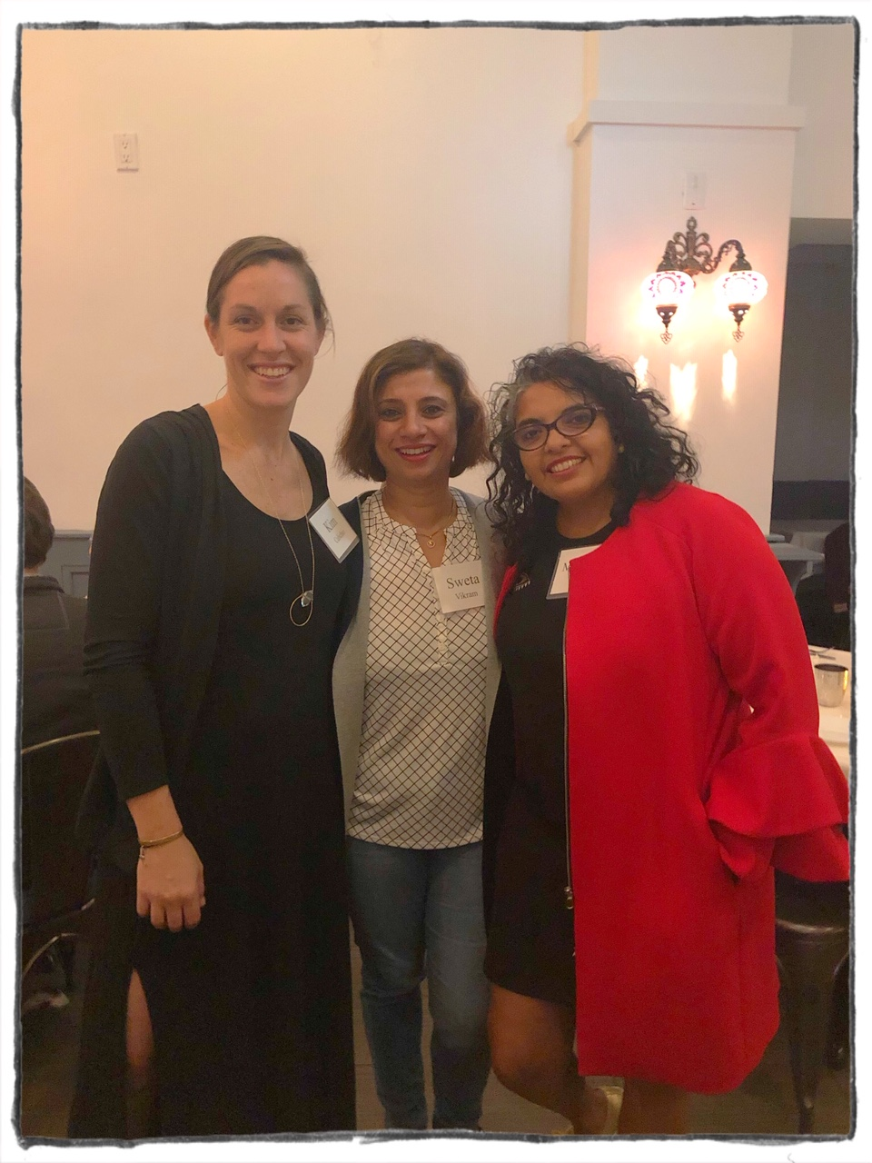 Curating wellness event for Women Entrepreneurs at Yaatri Restaurant, Astoria.