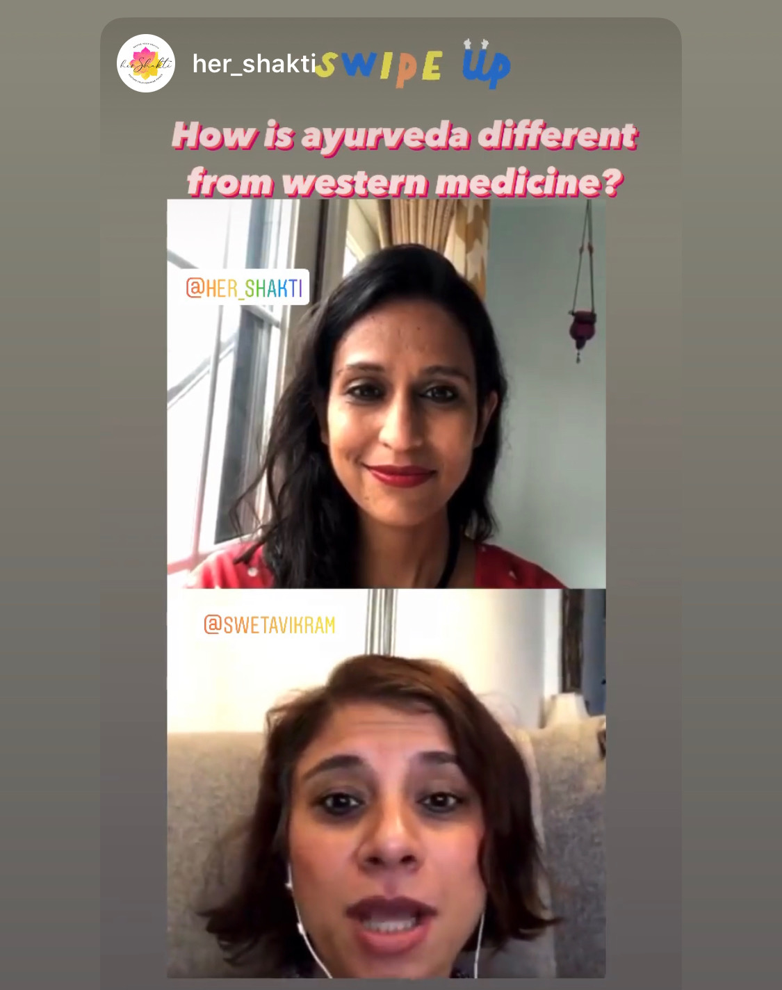 Sweta shares 5 Ayurvedic self care tips with Her Shakti.
