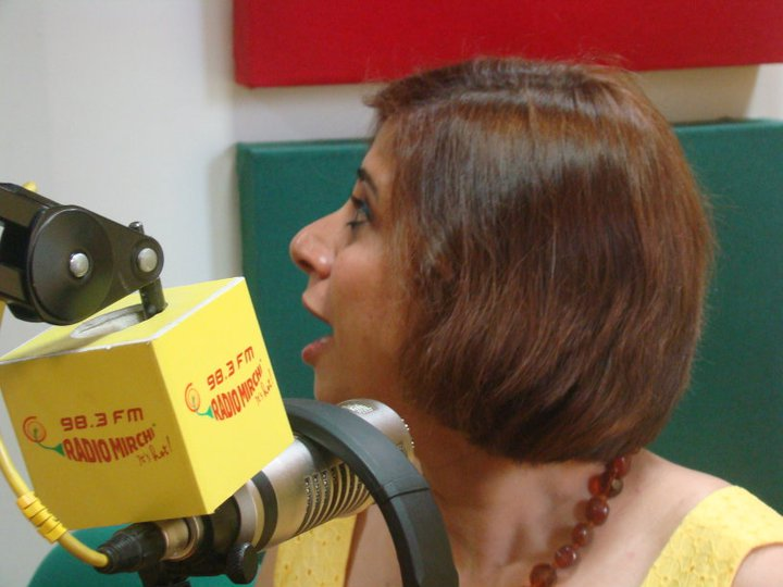 "Radio Mirchi, Mumbai, interview for the novel ""Perfectly Untraditional"