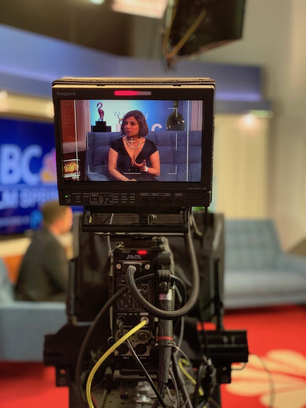 NBC interviews Sweta.