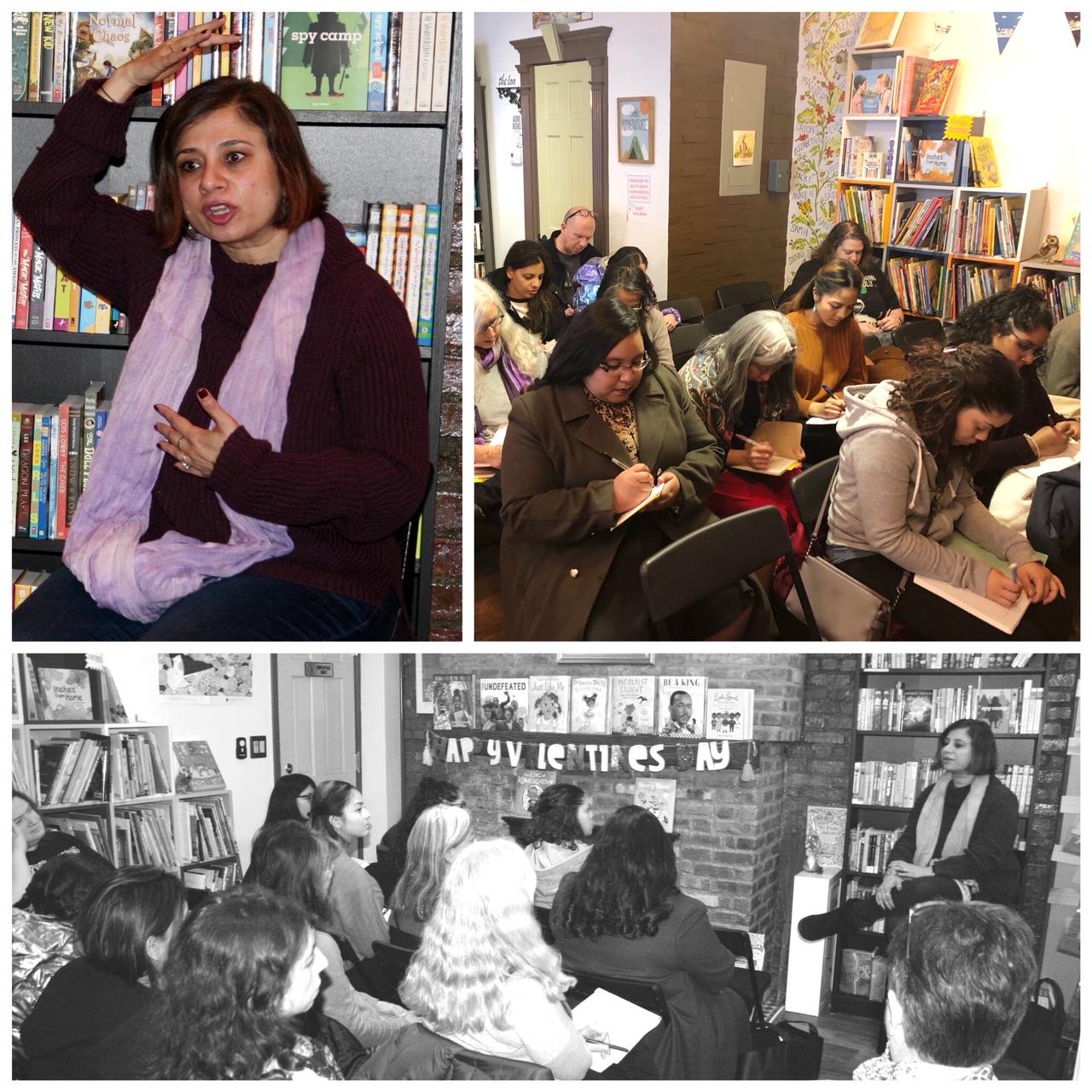 Writing Workshop at Kew & Willow Bookshop.