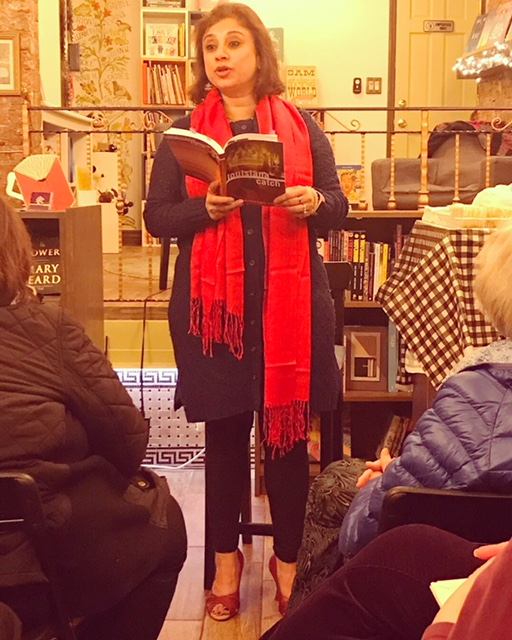 "Reading from ""Louisiana Catch"" at Kew & Willow Bookstore, NY."