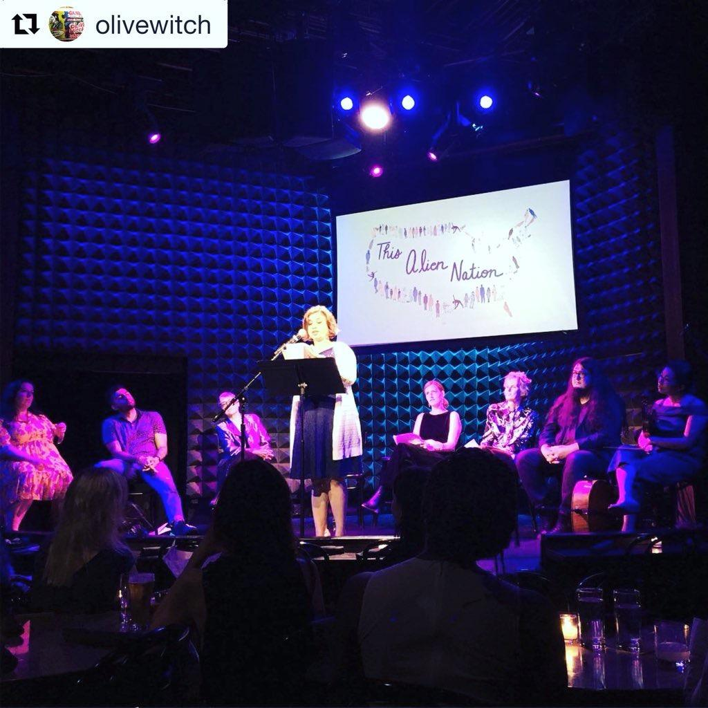 "Sweta reads at renowned Joe's Pub in NYC along with performers from SNL and the hit TV show ""Gossip Girl"