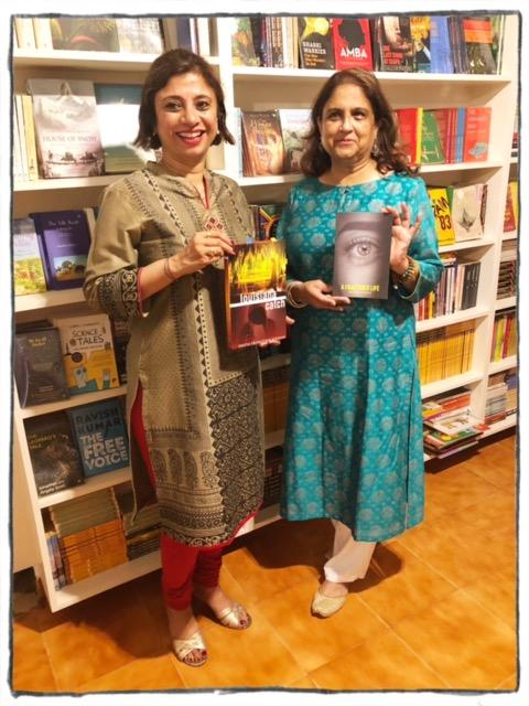 Book reading, Walking Bookstore, Bhubaneswar, India.