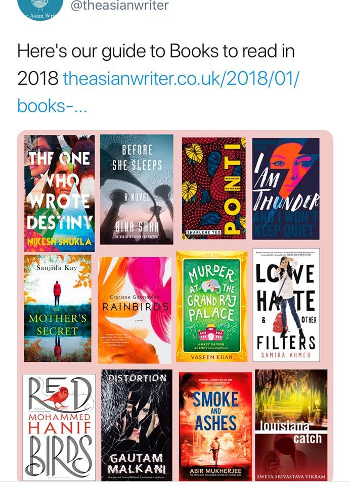asian writer 2018