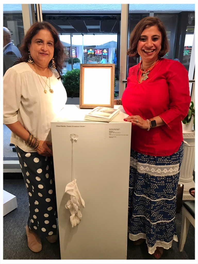 Human Trafficking: Reclaiming Freedom Exhibit (with the founder of Panchgani Writers' Retreat) - Watergate Gallery, Washington D.C.