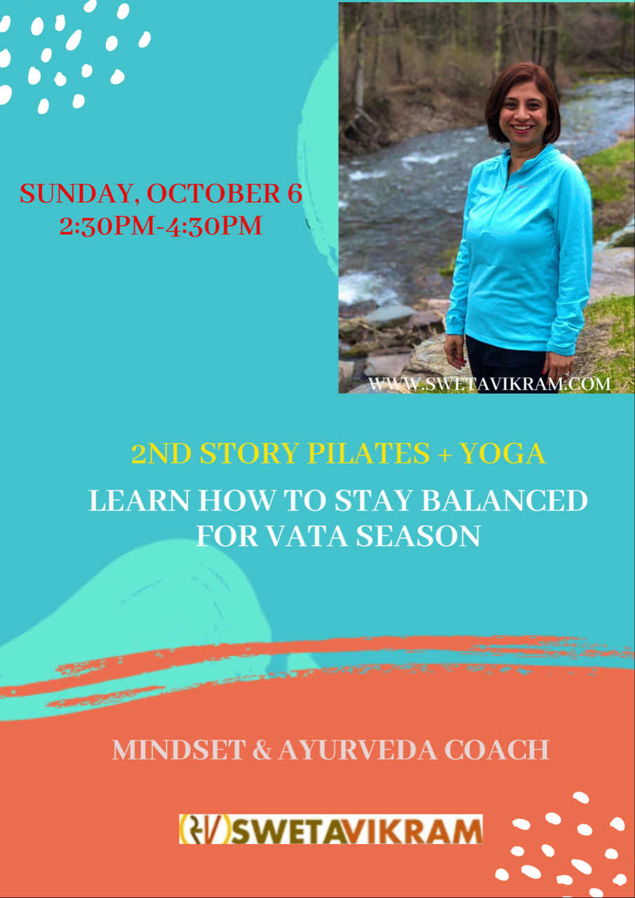 Learn How to Stay Balanced for Vata Season with swetavikram